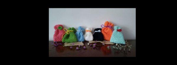 saculeti tricotati