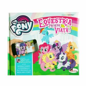 my little pony carte cu realitate augmentata