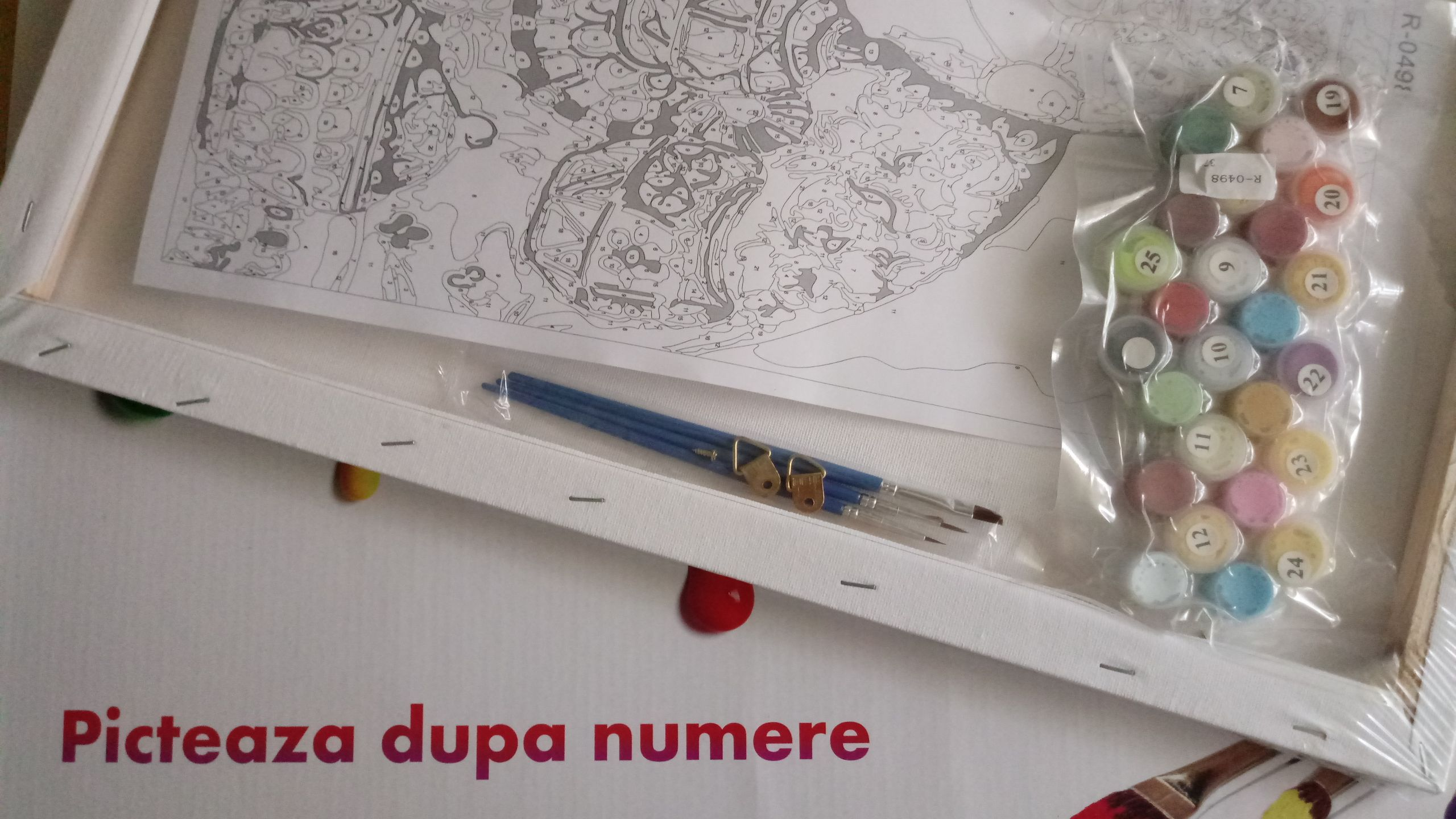 picteaza dupa numere