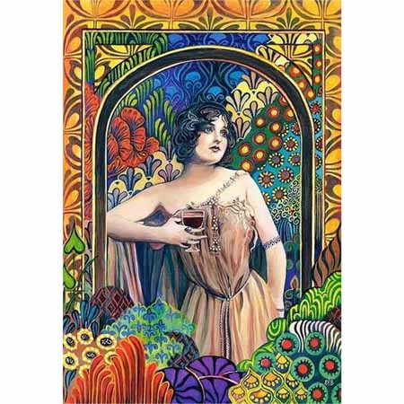 puzzle-castorland-meditrina-wine-goddess-1500-piese