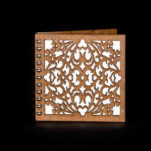 Agenda-10x10-lemn-model-filigran-agm071