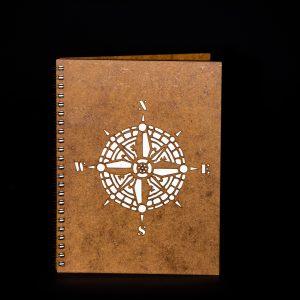 Agenda-A5-lemn-busola-ag098