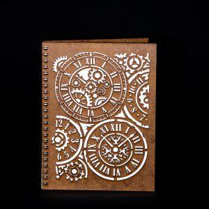 Agenda-A5-lemn-ceas-mecanic-ag086