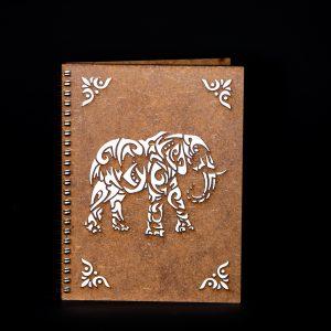 Agenda-A5-lemn-elefant-ag027