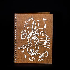 Agenda-A5-lemn-muzica-ag104