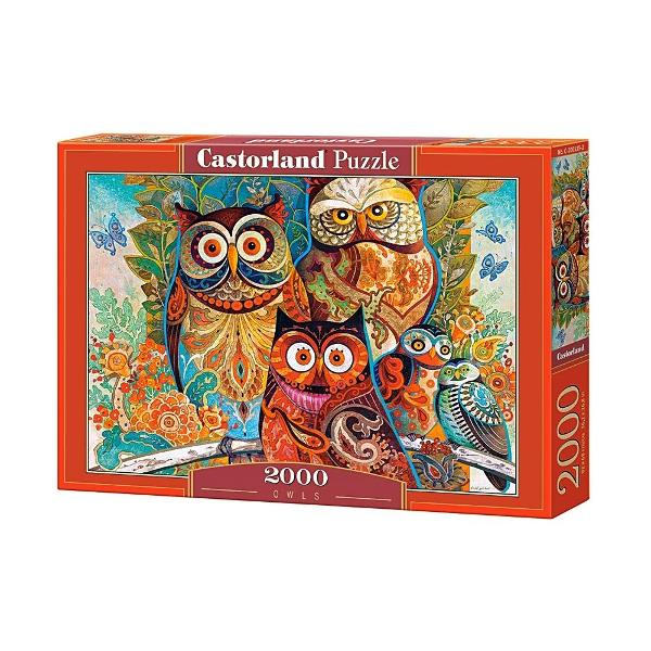 puzzle castorland owls 2000 piese