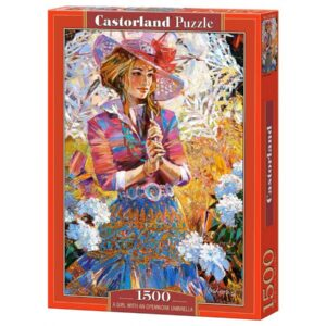 puzzle-castorland-a-girl-with-an-openwork-umbrella-1500-piese