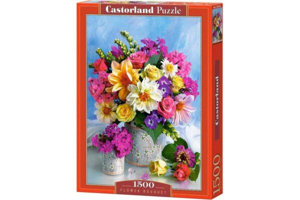 puzzle-castorland-flower-bouquet-1500-piese