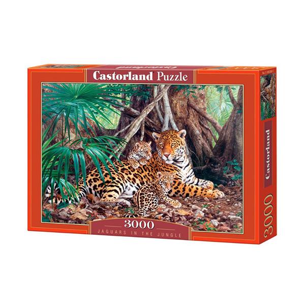 C300280_Jaguars in the jungle