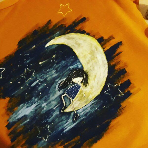bluza pictata